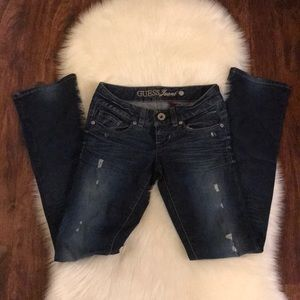 The guess boot cut jeans